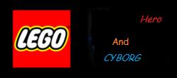 LEGO Ninja and Cyborg