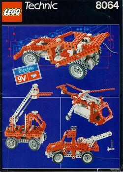 8064 Universal Motorized Building Set