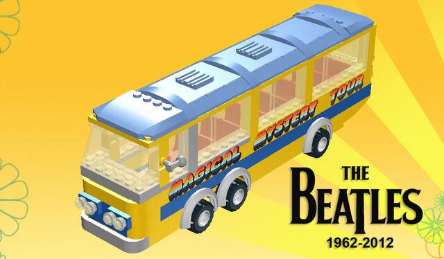 File:Beatles custom Magical Mystery Tour bus.jpg