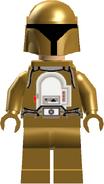 Gold Bolt (Helmet on)
