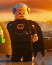 Alfred in Batsuit
