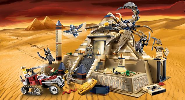 7327 la pyramide du scorpion wiki lego fandom powered - Legende de chima saison 2 ...