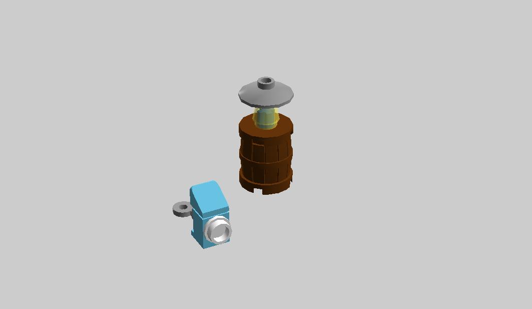 Lamp With Alarm Clock