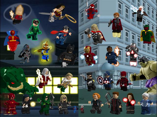 File:Lego Marvel v.s. DC.png