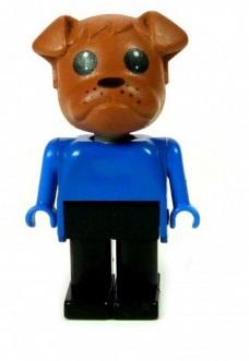 Fabuland Figure Bulldog 1