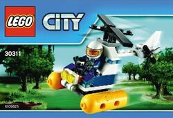 30311 Swamp Police Helicopter
