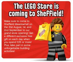 LEGO Store Sheffield