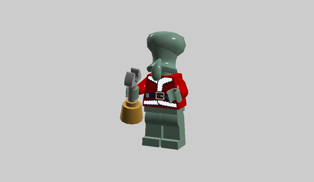Santa Squidward