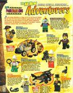 Lego mania magazine jan feb 1998 adventurers bios