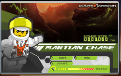 Martian cahse