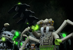 Spindle.Spider-Tride.Lego Chima