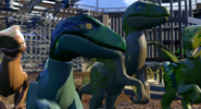 LEGO Jurassic World The Videogame Raptor Squad