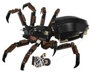 Shelob and Frodo Baggins in 9470 Shelob Attacks
