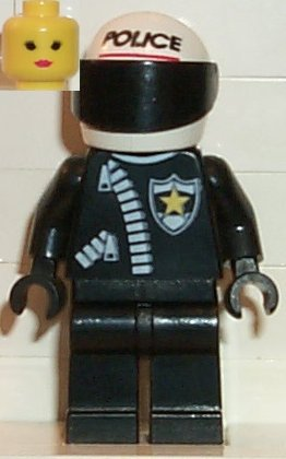 File:Police-Zipper with Sheriff Star, White Helmet with Police Pattern, Black Visor, Female.jpg