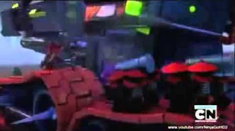 NinjaGo Season 2 Ep 25 Return of the Overlord