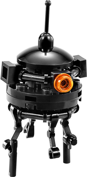 Imperial probe droid brickipedia fandom powered by wikia - Lego star wars base droide ...