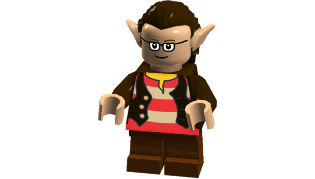 File:The Big Bang Theory minifigures (Leonard Frodo disguise).png