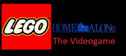 Lego Home Alone Logo