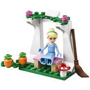 LEGOCinderellaonbench