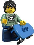 Lego skateboarder