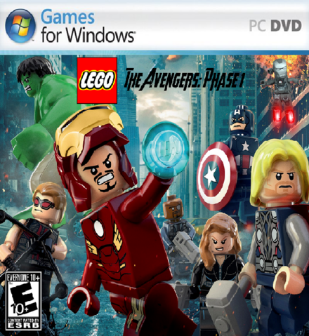 File:LEGO The Avengers-Phase 1 Cover (PC).png