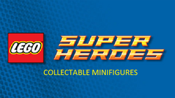 LEGO Collectable minifigures dc logo