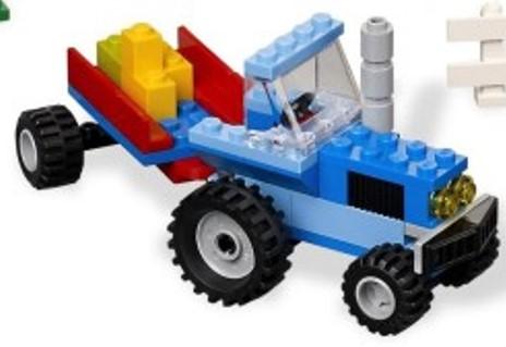 File:Blue Mini Tractor.jpg
