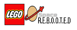 Lego Space REBOOTED logo