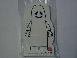 4227183-Memo Pad Minifig - (C) Ghost