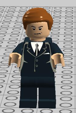 Lego Agent K