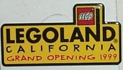 Pin80 Legoland California Grand Opening 1999