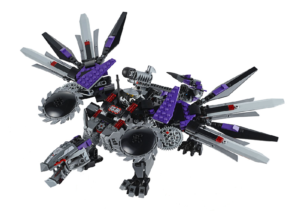 Ausmalbilder Lego Elves Drachen: Image - Mech-dragon.PNG