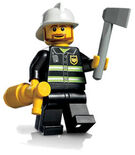 Lego MF Fire Chief