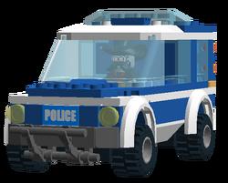 Not-a-Robot's Police Car