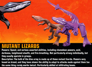 Mutant Lizards