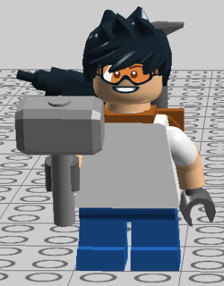 Toolshed minifig