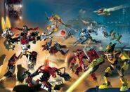 250px-2 0 Heroes facing Fire Villains