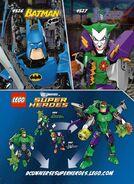 Joker and Green Lantern Combiner Model Two