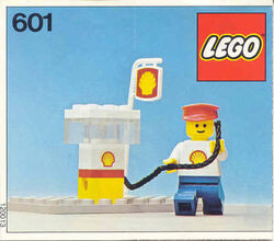 601-Shell Gas Pump