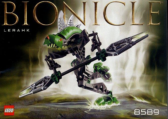 LEGO 8591 Bionicle Vorahk