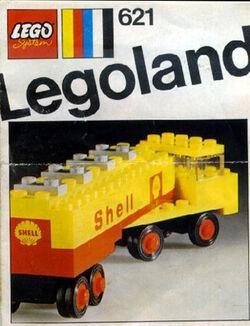 621-Shell Tanker Truck