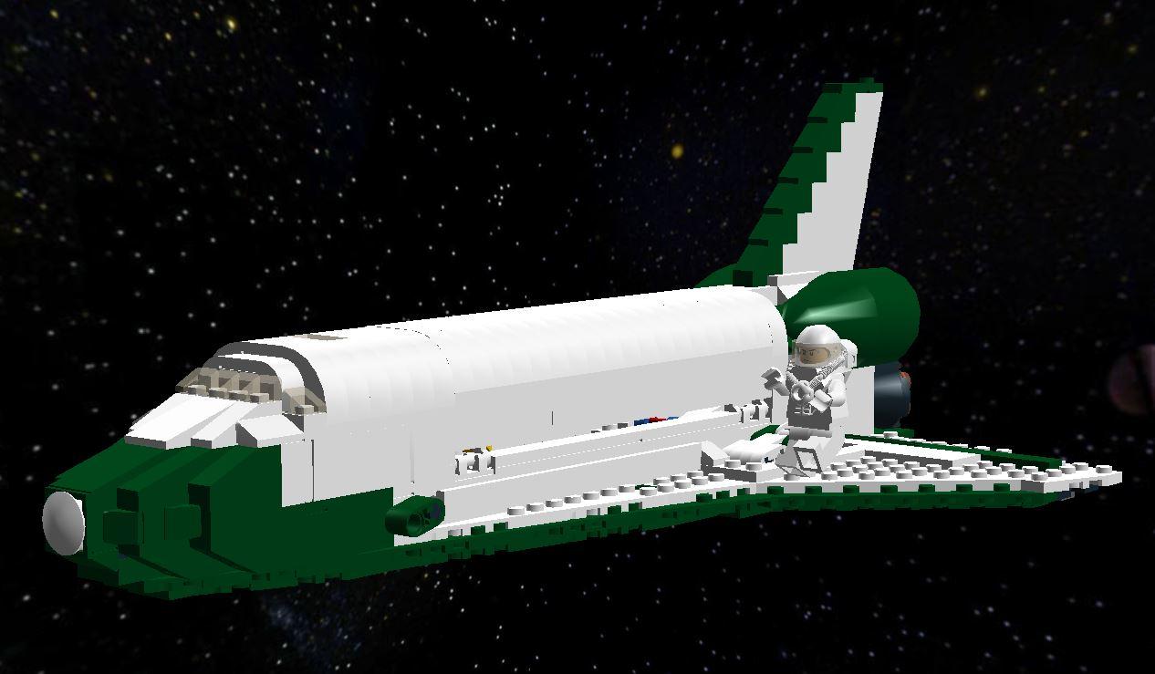 lego space shuttle custom - photo #2