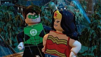 Lego batman 2 2 green lantern wonderwoman