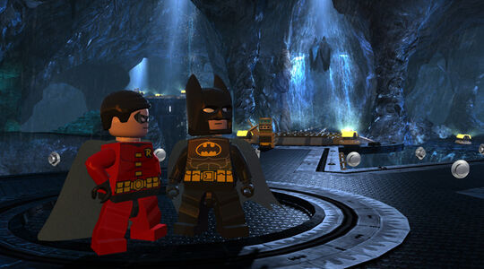 Lego batman 2 Batcave 2