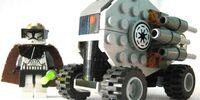 7963 Clone Gunner Commander Jedi's Assault tank