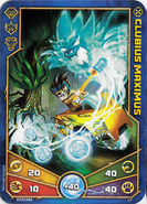 Clubius Maximus Weapon card