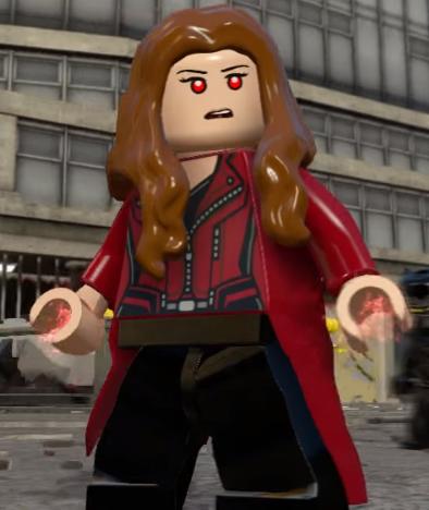Scarlet Witch (Civil War) | Lego Marvel and DC Superheroes ... Lego Batman 2 Sets