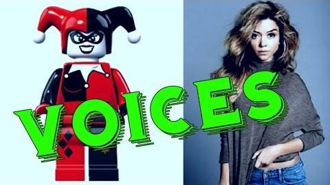 Lego DC Comics Superheroes Voices Cast Actors Justice League - Gotham City Breakout ✔