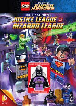 Lego bizarro and Justice