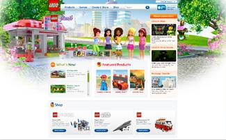 LEGO.com home